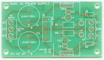 K83-5 +/-5V Bipolar Power Supply