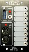 9700K MIDI2CV8 Electronics Kit
