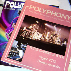 Polyphony Magazine Sample - featuring Peter Gabriel