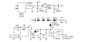 PAiA article - Percussions Sensors - Converting oscillatory signals