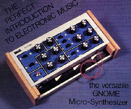 The Gnome Microsythesizer introduced thousands to electronic music.