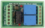 K156 Dual HI/LO Switched Relay Board