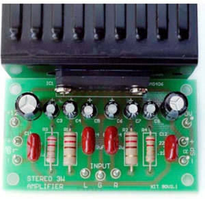 K90 3 + 3 Watt Stereo Amplifier