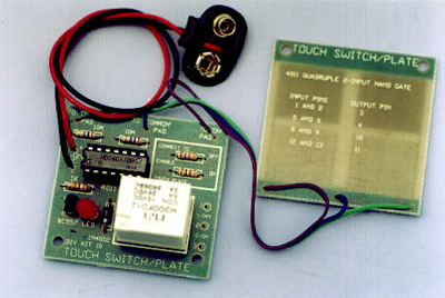 K10 - Touch Switch/Plate